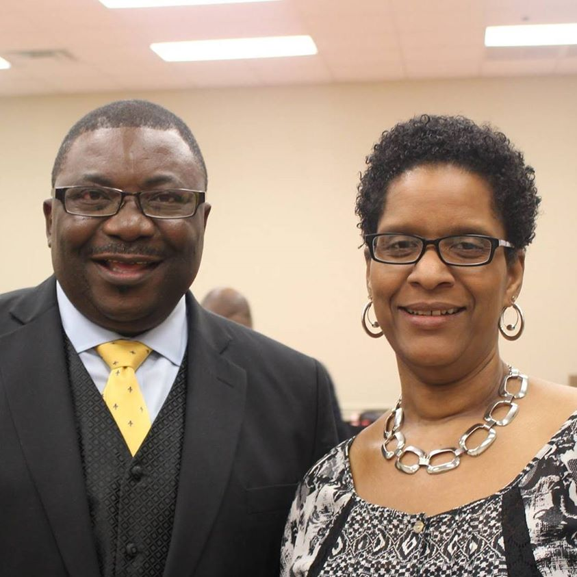 Pastor Rev. Dr. Greg Ota with his wife, First Lady Carla Ota
